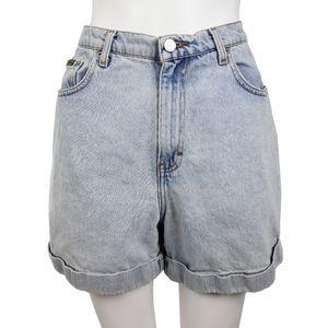 Vintage Calvin Klein Jeans High Waist Denim Shorts